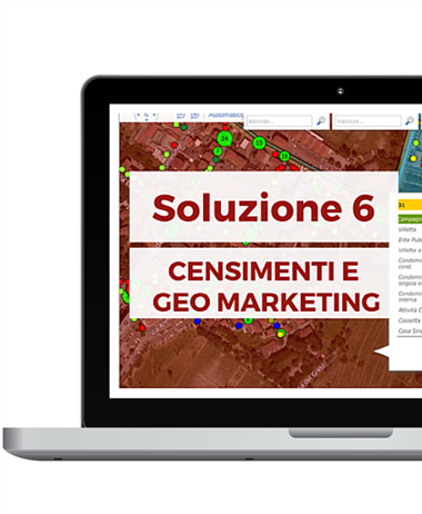 SOLUZIONE 6 - CENSIMENTI E GEO MARKETING